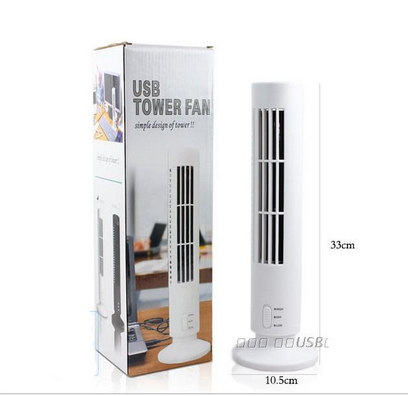 USB electric fan tower mini stereo type air conditioner