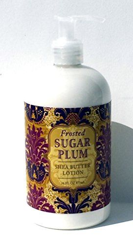 Greenwich Bay Thanksgiving  Christmas Scents Hand and Body Lotion with Shea Butter 16oz Frosted Sugar Plum -- Read more reviews of the product by visiting the link on the image.(This is an Amazon affiliate link)