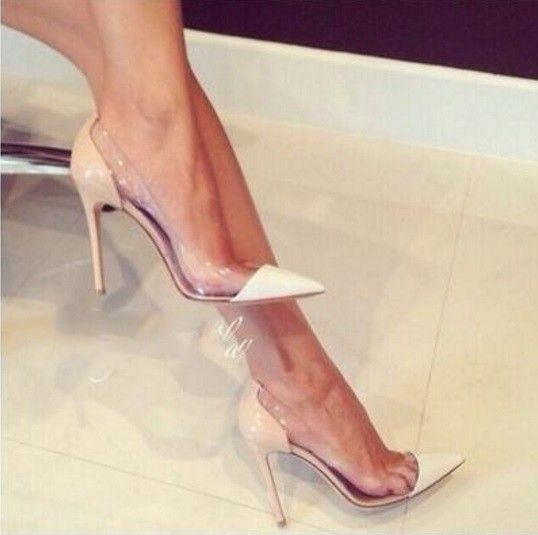 afe196ac0 Scarpin Lateral Transparente (cod. 2428) | Shoes & Accessories+ ...
