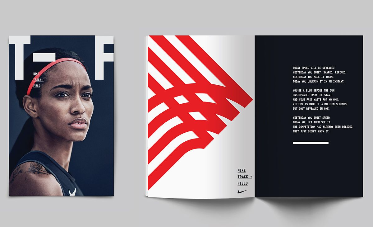 Nike - Track and Field on Behance shared via https://chrome.google