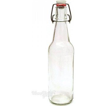 Home Brew Online Clear Swing Top Bottles 500ml 12 Pack