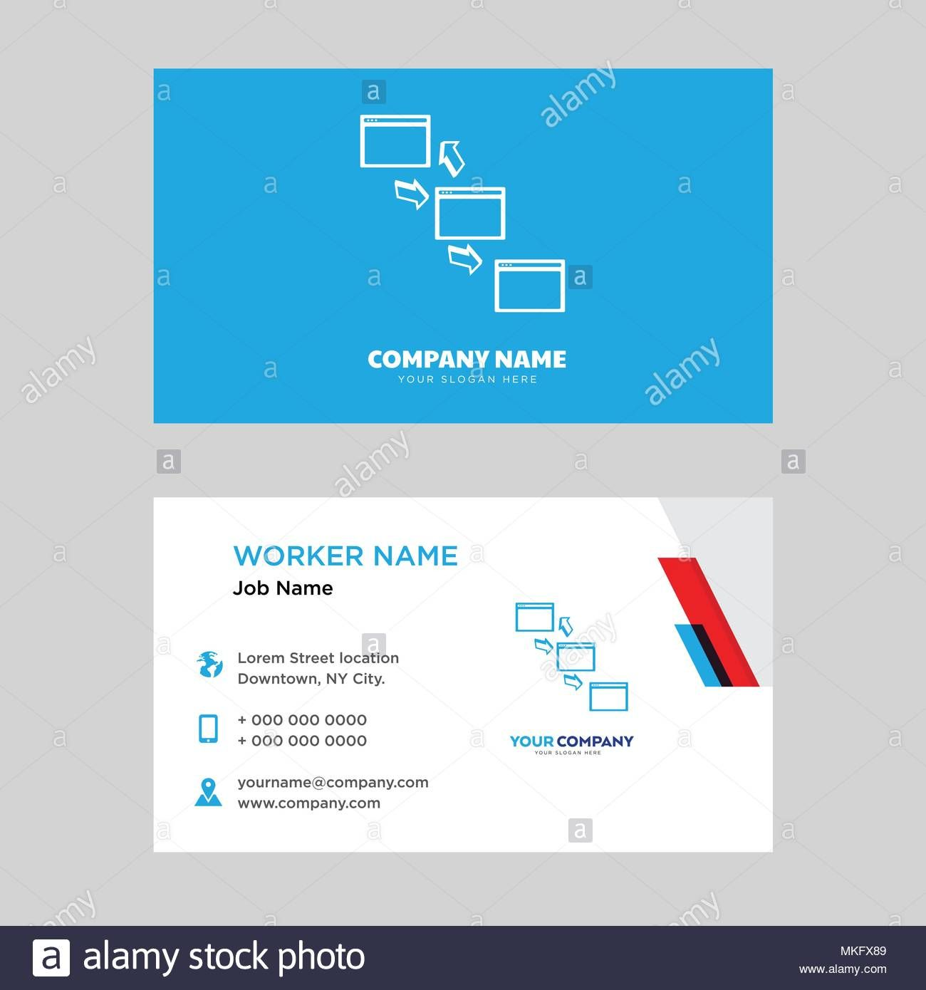 Networking Business Card Design Template Visiting For Your Pertaining To Networ Business Card Template Design Business Card Template Word Business Card Design