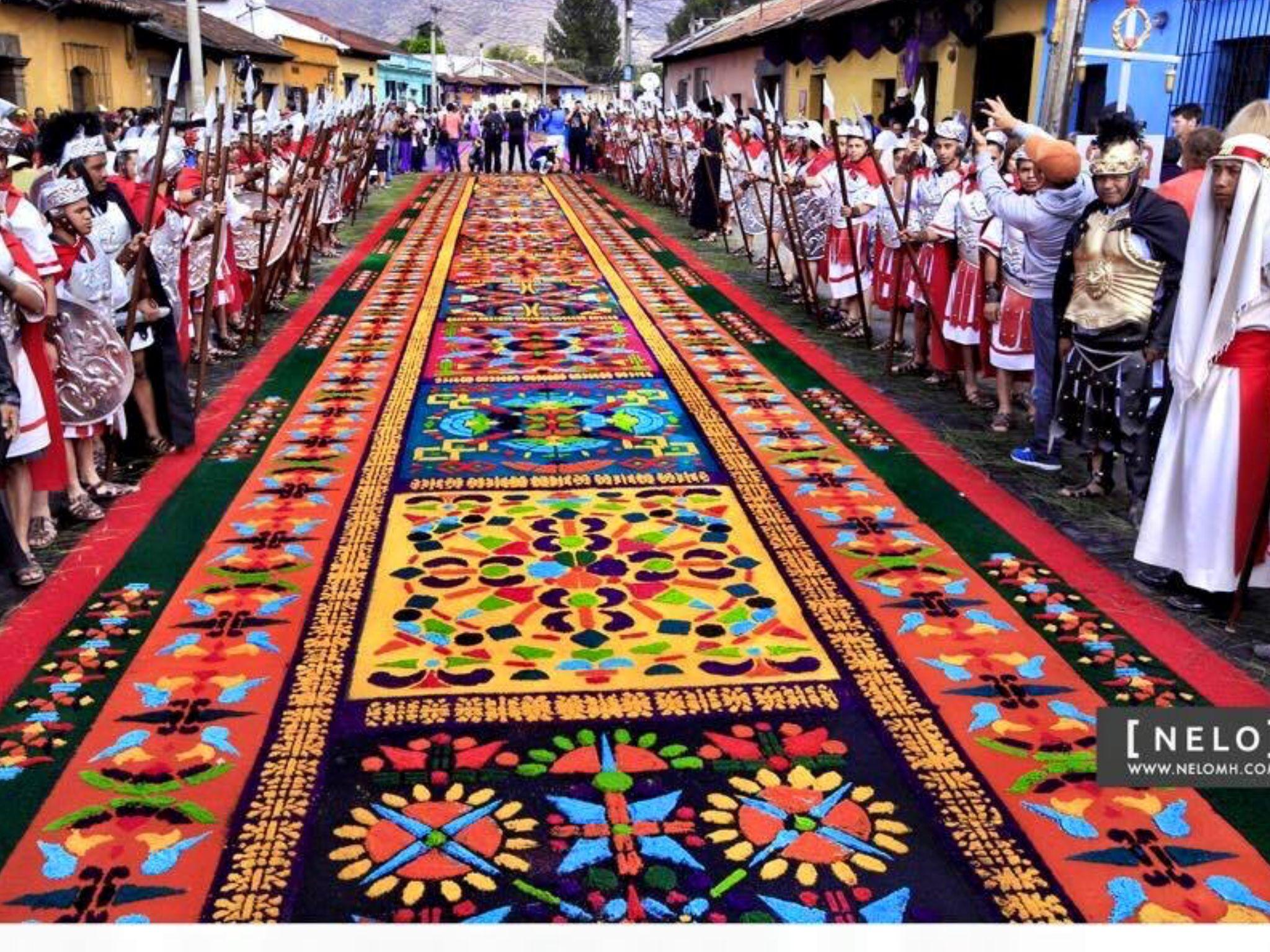 Beautiful Antigua Semana Santa Guatemala City Antigua