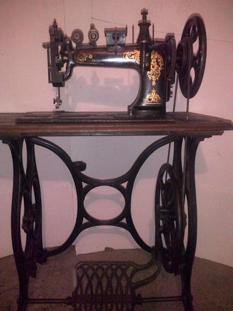 shoemaker sewing machine: Atlas | فنتج | Sewing, Antique sewing