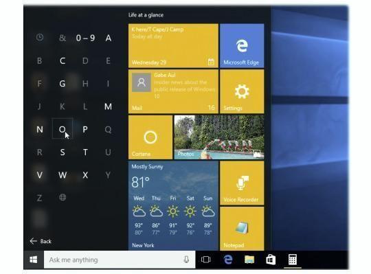 Secrets of the Windows 10 'All Apps' Menu Computere