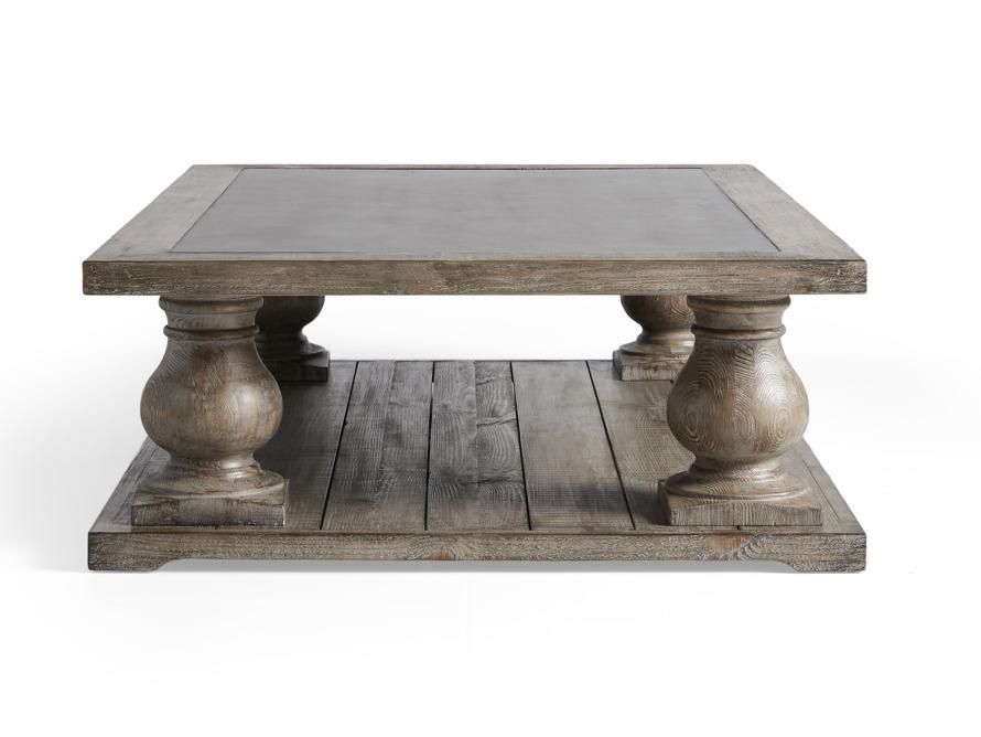 Hudson Coffee Table With Bluestone Arhaus Furniture With Images Coffee Table Arhaus Furniture Furniture