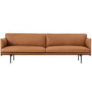 Muuto Outline Sofa 3 Seater Types Of Sofas Sofa Scandinavian Style Sofa