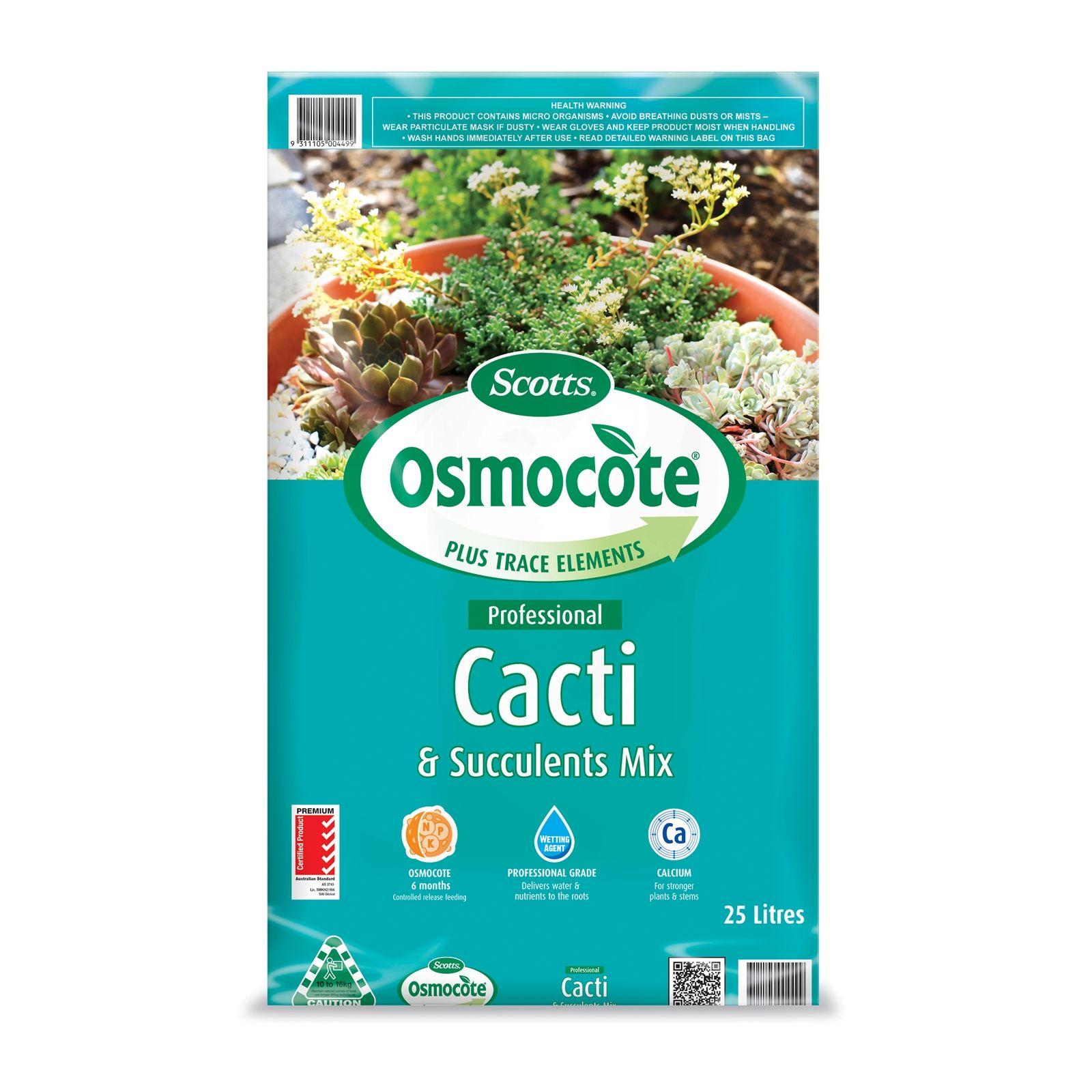 Osmocote 25L Professional Cacti And Succulents Potting Mix
