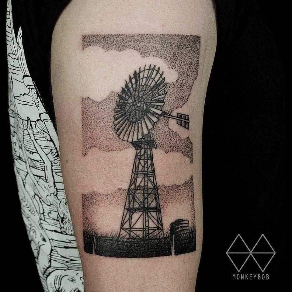monkey bob tattoo windmill brisbane monkey bob tattoo pinterest windmill tattoo and tatting. Black Bedroom Furniture Sets. Home Design Ideas