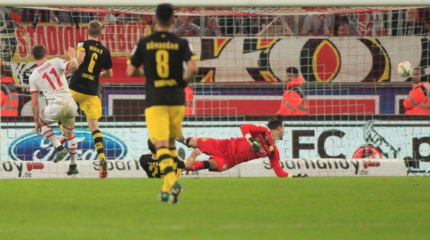 BL.-17 Sptg: Köln-Dortmund 2.1 - Aggressiv liefen die Kölner nun die Aufbauspieler an und provozierten so Fehler...