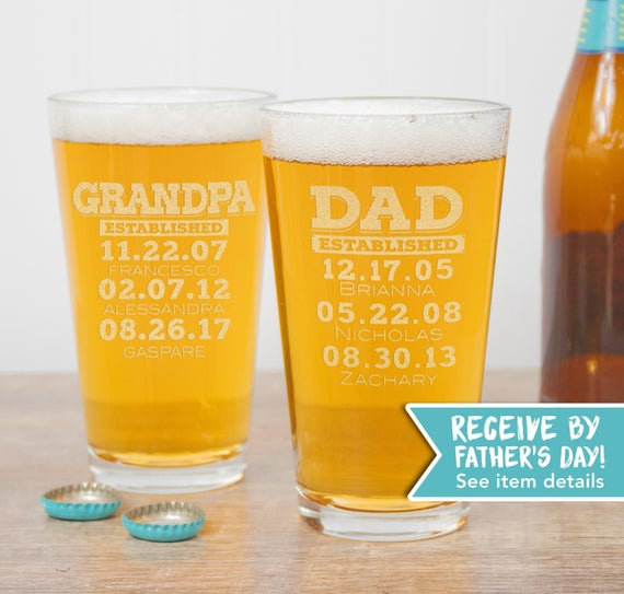 11 oz Rocks Whiskey Highball Glass The Best Dads Get Promoted To Grandpa