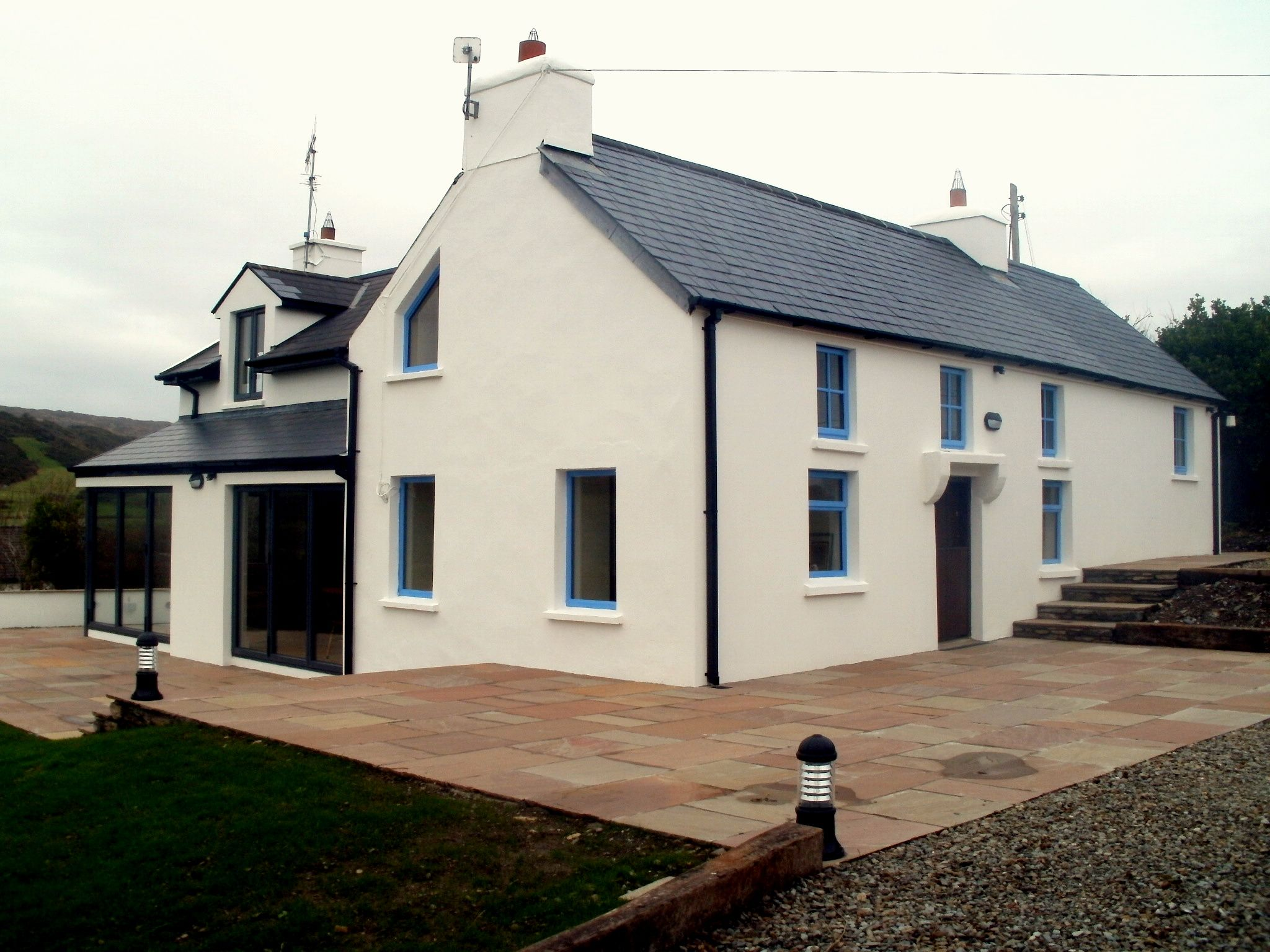 Renovations & extension to a traditional coast farm house located at Toe Head West Cork
