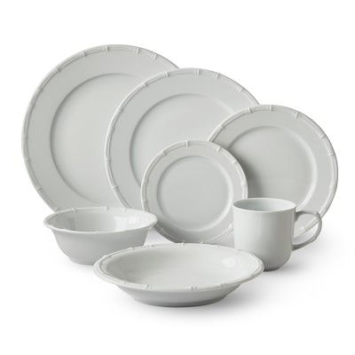 Pillivuyt Bamboo Dinnerware Collection Williamssonoma