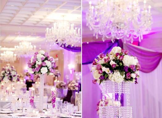decoración de boda en morado y rosa [fotos] | boda morada/my future