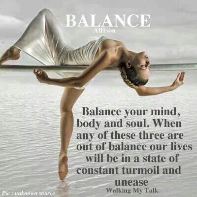 Balance Your Mind Body And Soul Yin Yang Mindfulness Quotes