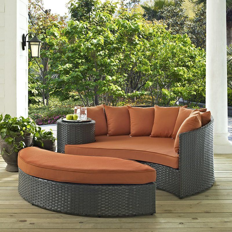best place to buy sojourn daybed with cushions by modway chairs rh pinterest com Outdoor Patio Furniture Design best place to buy quality outdoor patio furniture