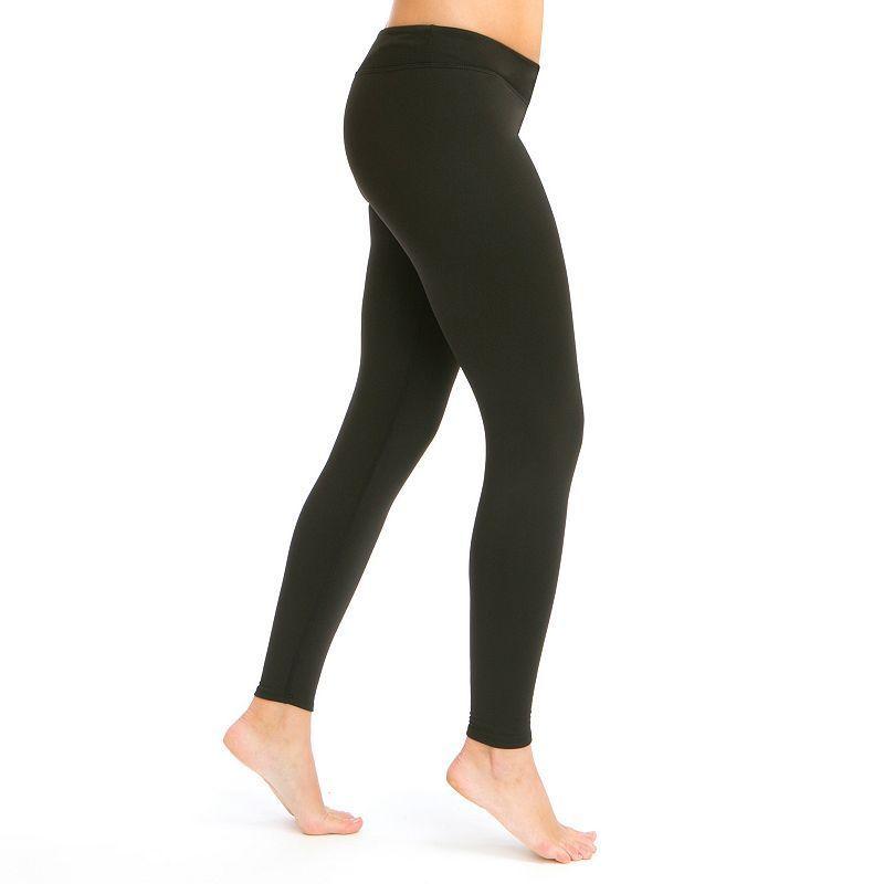 Women's Snow Angel Chami Fleece-Lined Base Layer Leggings, Size: Xsml Av/Rg, Black