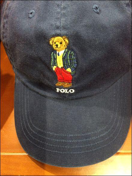 Polo 174 Teddy Bear Branded Baseball Caps Polo Ralph Lauren