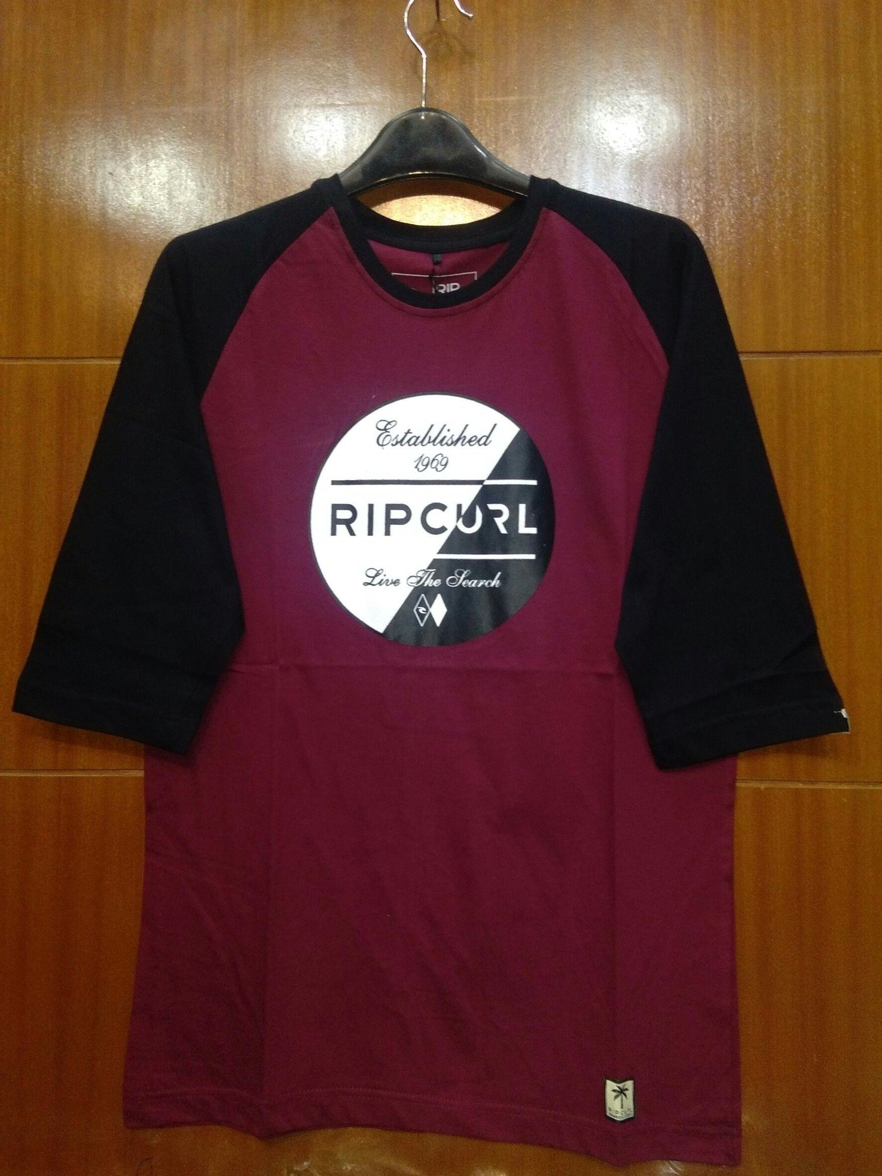 Kaos Raglan Lengan Panjang 3 4 Terbaru Ageragrosirdistrocom Tendencies Pocket Tshirt Logo Misty Red Merah M Pinterest
