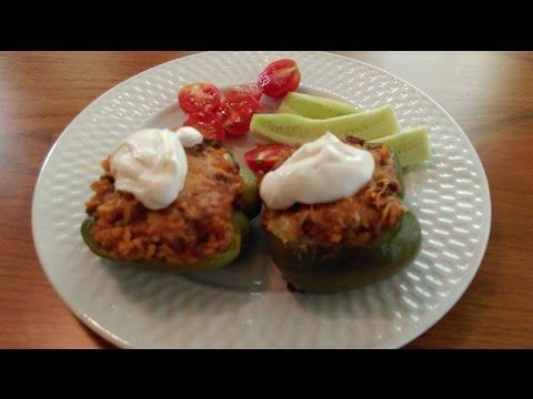 Stuffed Peppers How To Make Stuffed Bell Peppers The
