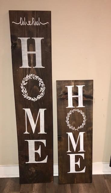 Welcome Sign Rustic Home Wood Sign Home Sign Porch Sign