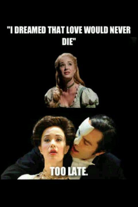 Pin By Megan Najera On Well This Is My Taste In Movies Phantom Of The Opera Ramin Karimloo Musicals Funny