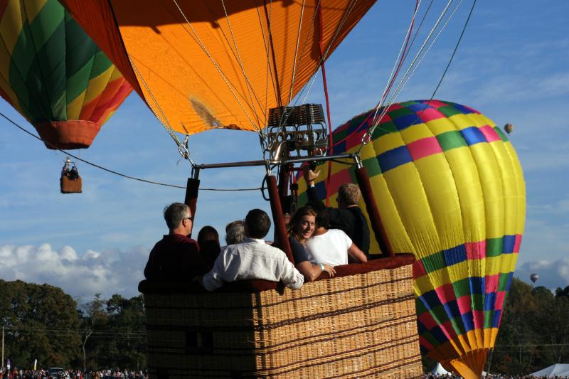 2014 Carolina BalloonFest! Home3rd weekend in october