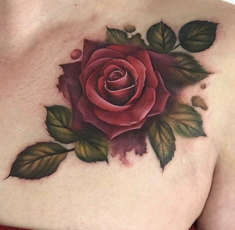 Pin By Regiane Silvar On Tattoo Art Watercolor Rose Tattoos Tattoos Rose Tattoo Design
