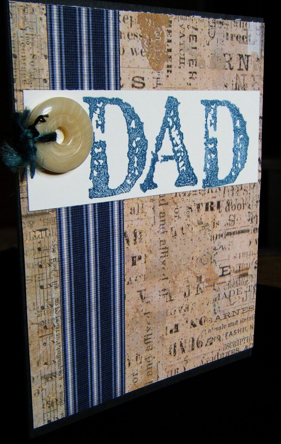 Dad card - EtsyGreetings Handmade Cards: February 2011