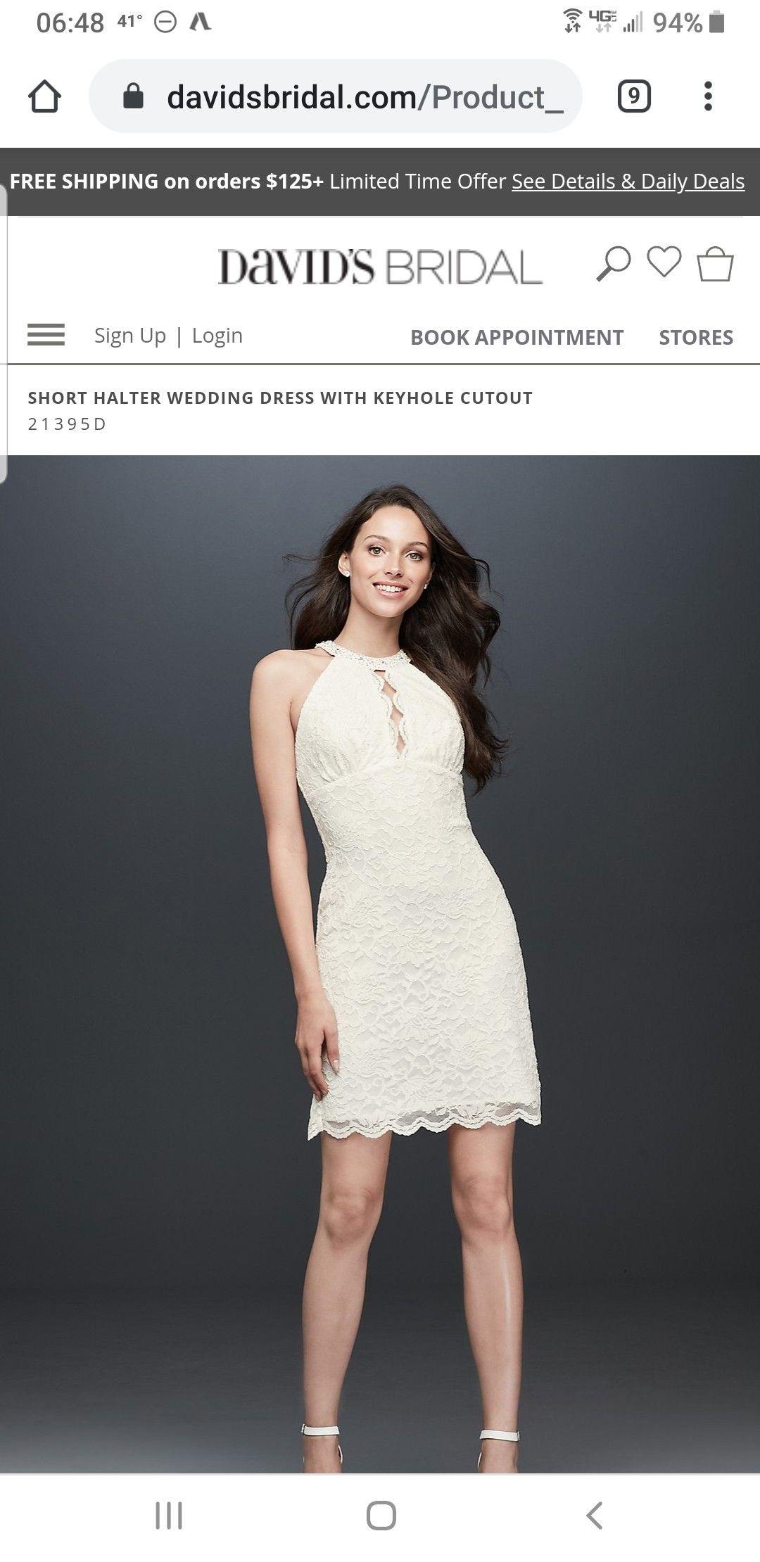 Pin By Karen Lintz On Wedding Short Halter Wedding Dress Halter Wedding Dress Dresses [ 2220 x 1080 Pixel ]