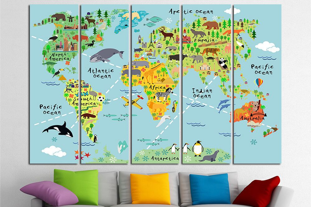Nursery world map nursery map map for kids world map for kids kids nursery world map nursery map map for kids world map for kids kids wall art kids gumiabroncs Image collections