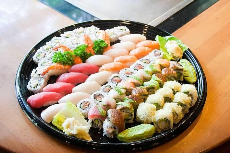 benihana sushi party platter benihana odds and ends sushi party rh pinterest com