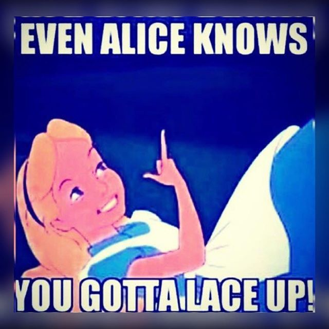 It's Friday fam!!! Remember 2 STAY LACED UP..Alice even knows!!! #LsUp #itsfriday #ltfuorstfu #19✖️✖️ #ESTgurl4life #CLEtillidie