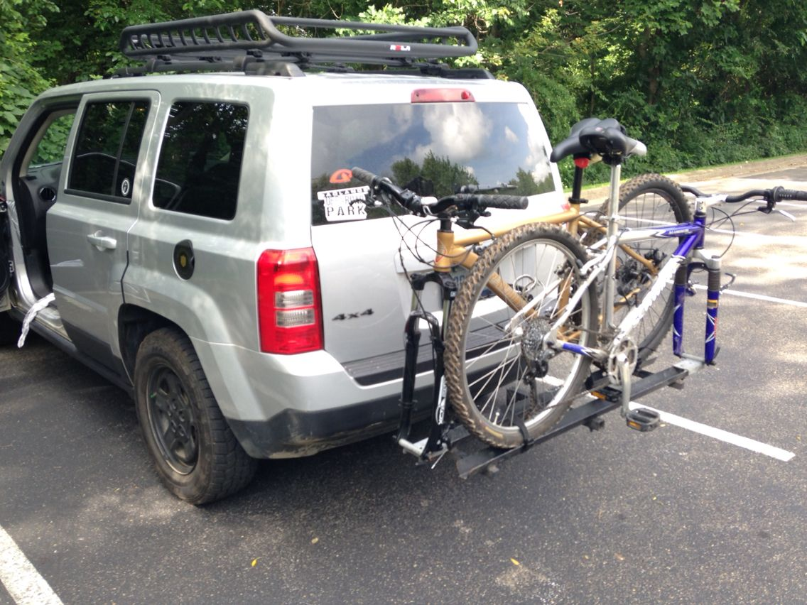 Hitch Mounted Bike Carrier Jeep Patriot Jeep Bike