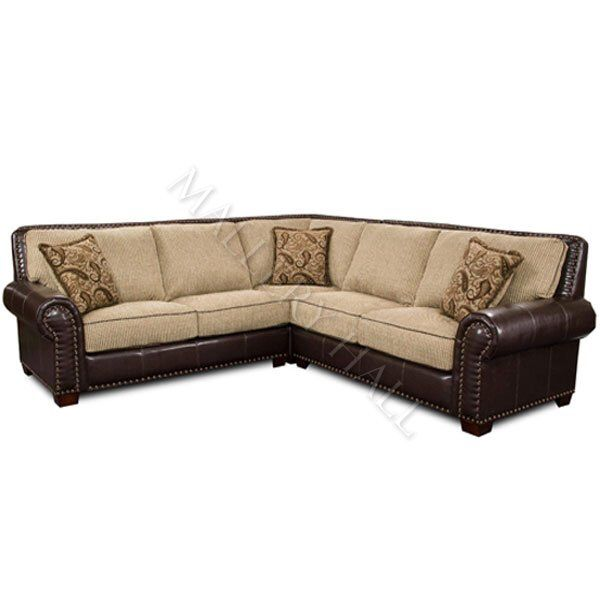 Www.malloryhall.com Leather. Tapestry. Sofa. Sectional