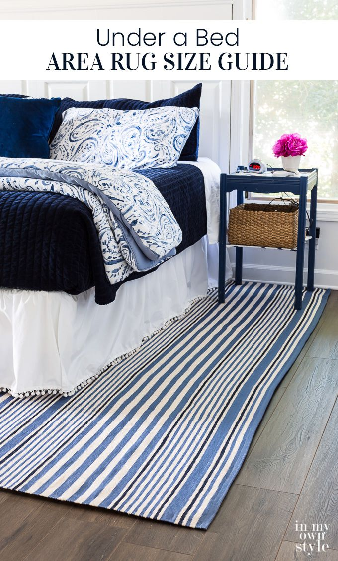 Why I Almost Didn't Get a Bedroom Area Rug (In My Own