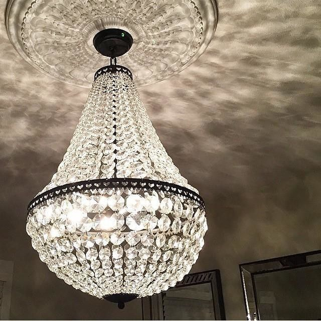Enya Sea Glass Chandelier Potterybarn Beachhousestyleinteriors