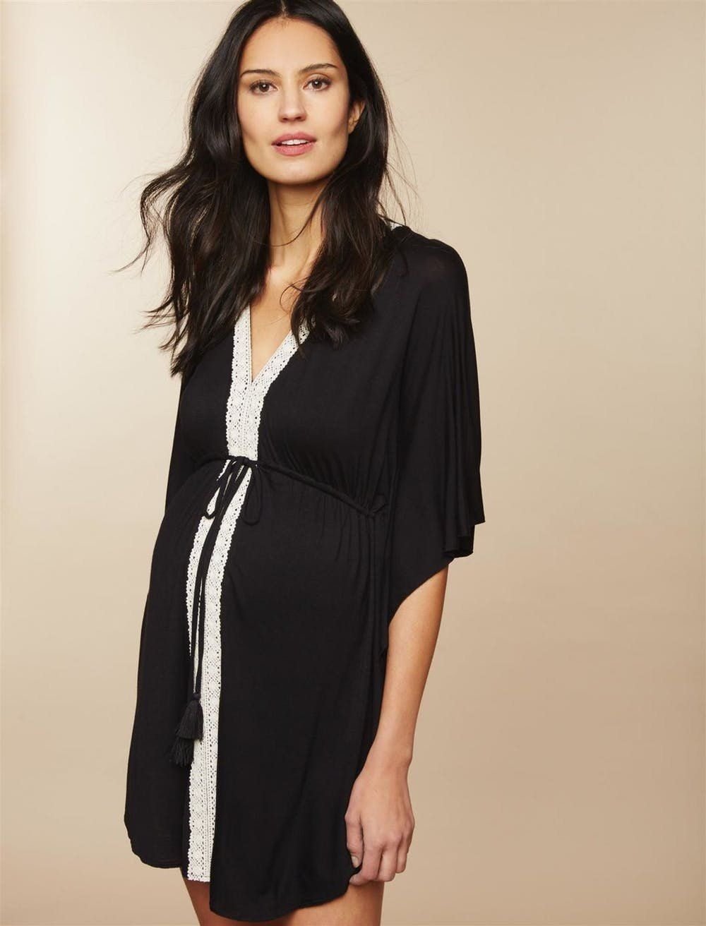 f01cef8eac Stylish maternity beach cover-ups are a must for any expecting mama this  summer!