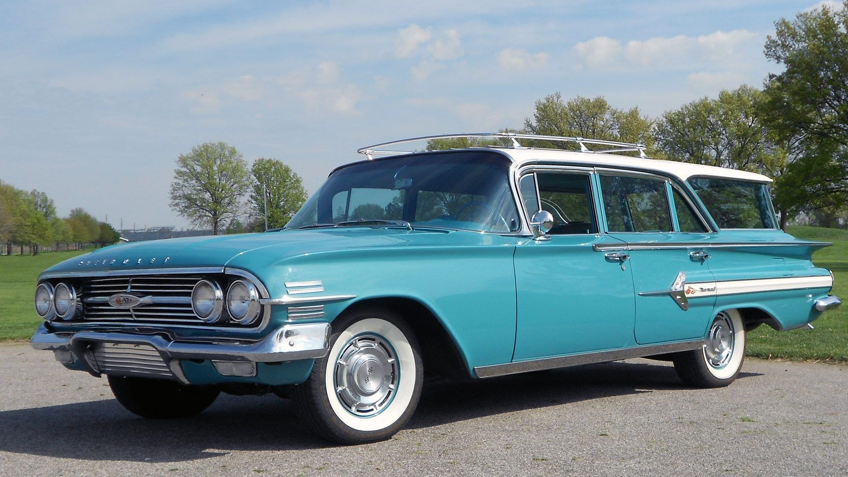 1960 Chevrolet Nomad Presented As Lot S270 At Indianapolis In In 2020 Chevrolet Station Wagon Wagon