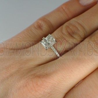 5 Carat Diamond Engagement Ring On Hand Pics 1 1 Carat Engagement Rings Engagement Rings On Finger Engagement Ring On Hand