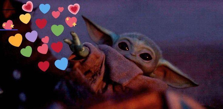 Baby Yoda Heart Emoji Memes Br See More Heart Emoji Memes Images On Know Your Meme In 2020 Star Wars Memes Yoda Meme Star Wars Baby