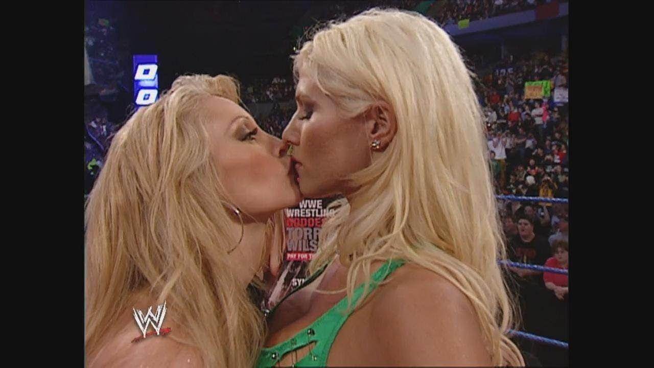 Torrie Wilson & Sable Segment: SmackDown, April 3, 2003   Torrie ...