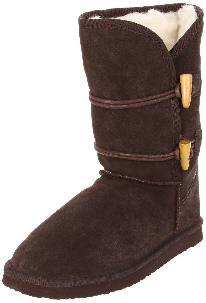 Authentic Womens Ukala Taj Low casual  Winter boots CHOCOLATE BROWN Size 8 w #Ukala #FashionAnkle