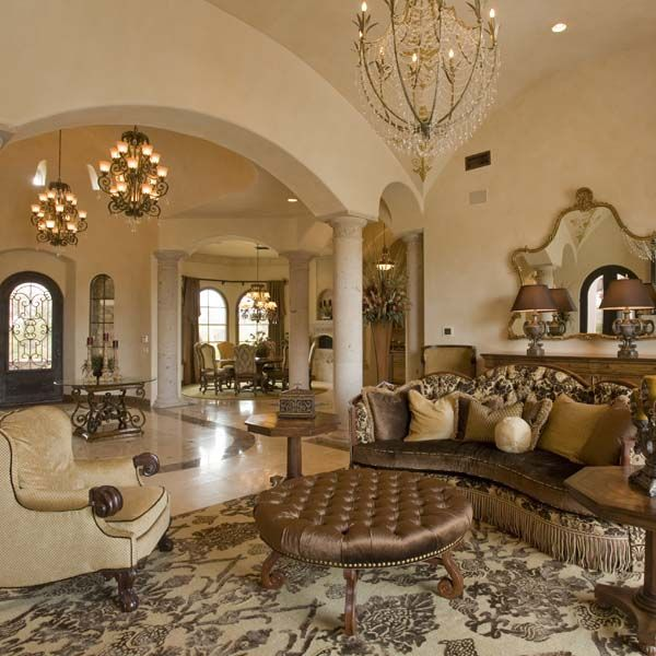 11 Tuscan Transitional Living Room Ideasinterior Design: Fancy Living Rooms, Living Room Designs