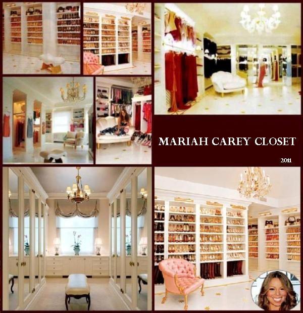 Wardrobe Mariah Carey Closet
