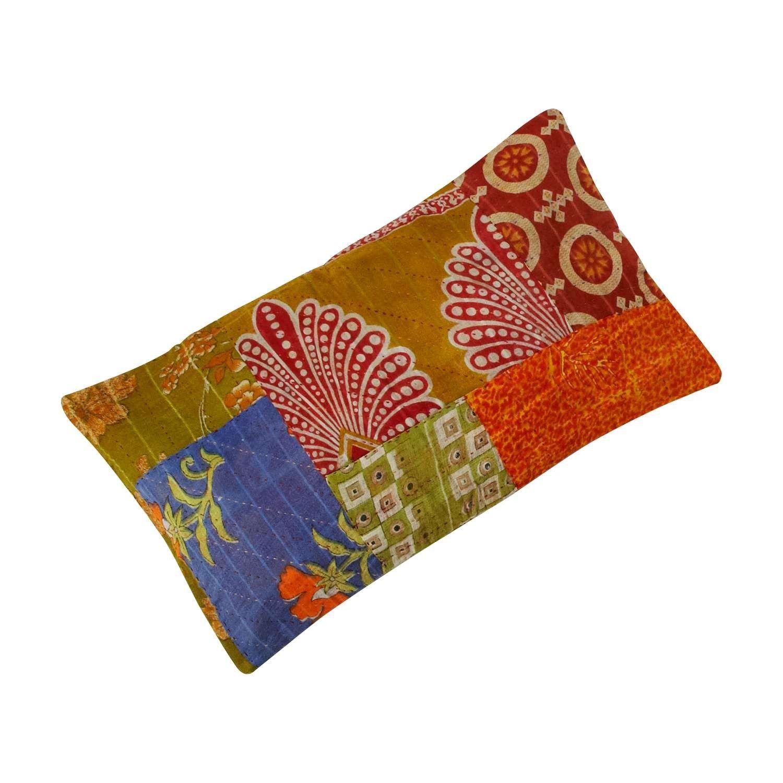 Sari motif cushion saris pillows and spaces