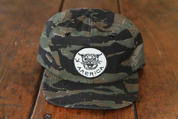 Image of W/A Tiger Camo Hat