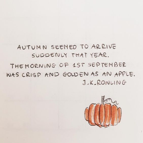 10 Quotes to Help You Fall in Love With Autumn #fallseason