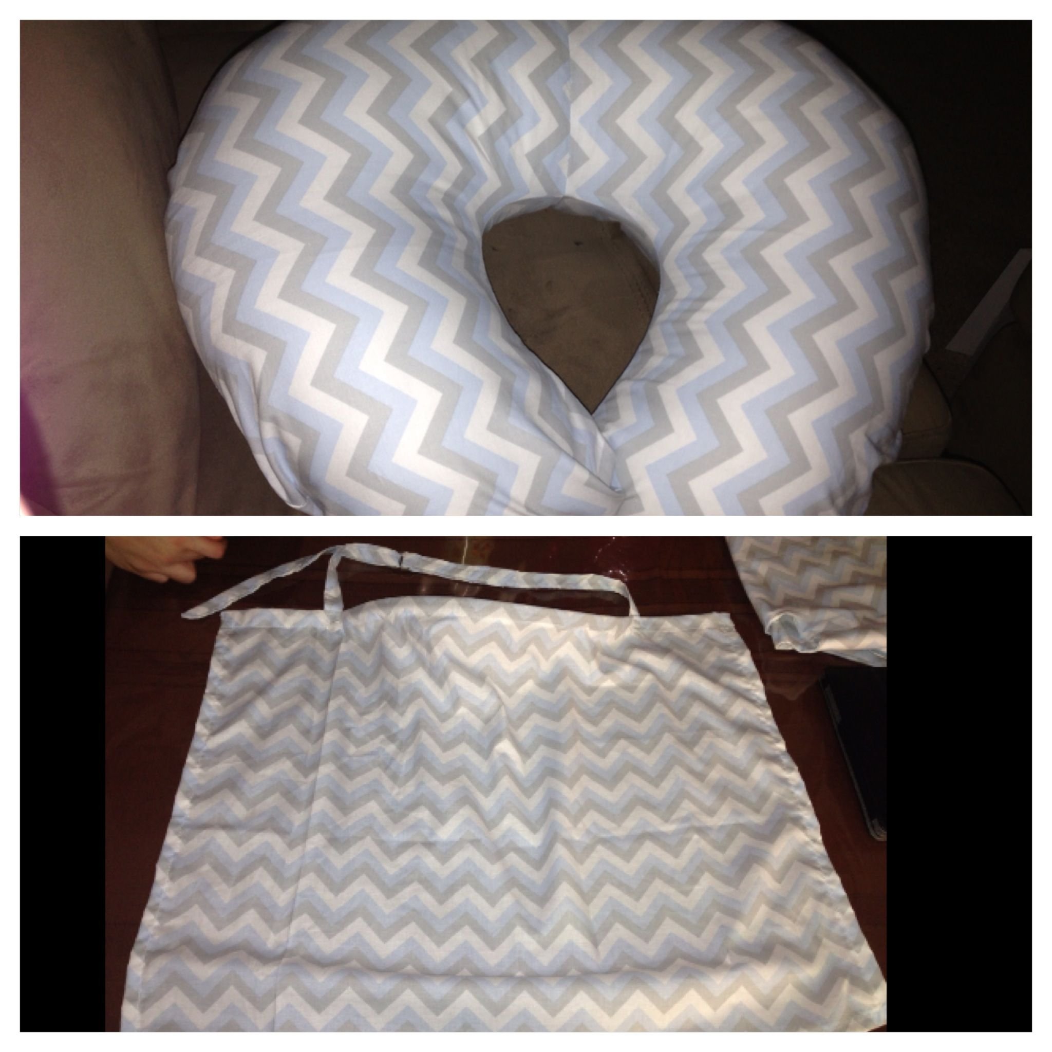 Old Fashioned Boppy Pillow Pattern Sewing Vignette - Sewing Pattern ...