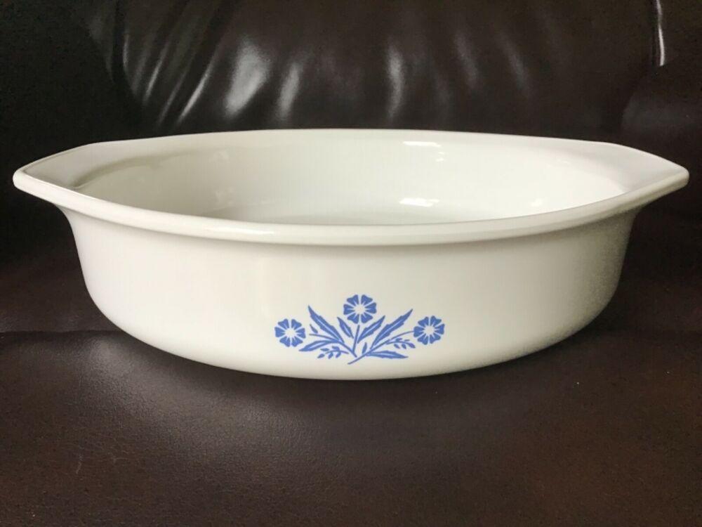 Details about vintage corning ware 2 12 qt casserole dish